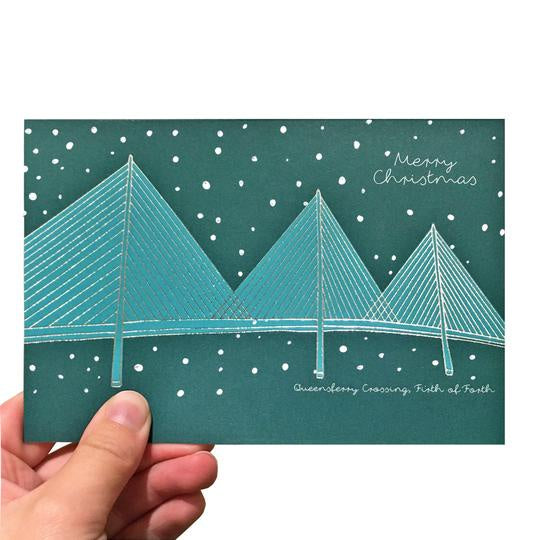 Queensferry Crossing Christmas Card