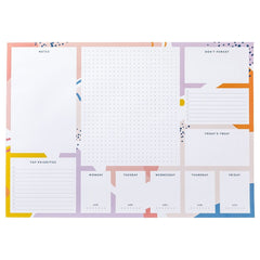 Busy B Bright Stripes A3 Desk Pad