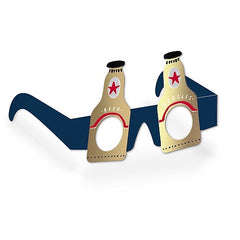 Beer Goggles Birthday Glasses