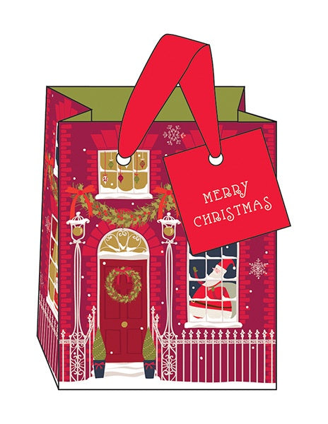 House Facade Small Gift Bag