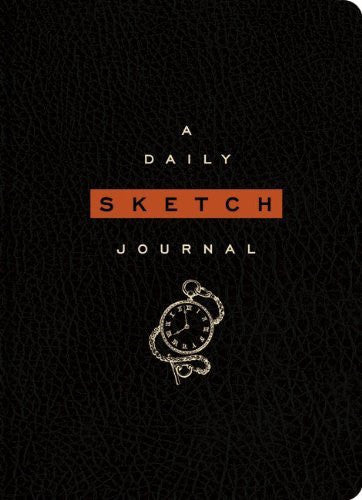 The Daily Sketch Journal Black