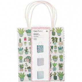 Hygge Plants Paper Bag Set of 3