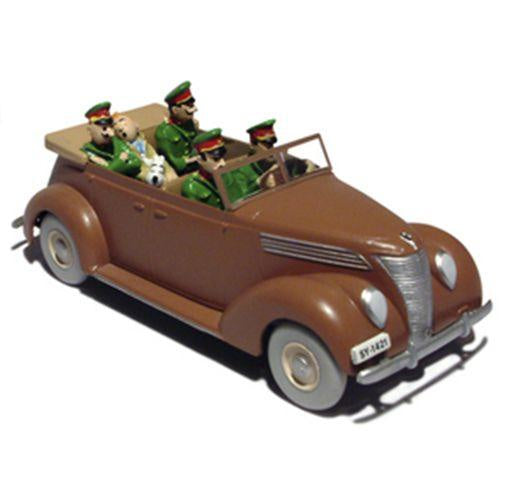 Tintin Die Cast Car Ford V8 King Ottokar's Septre