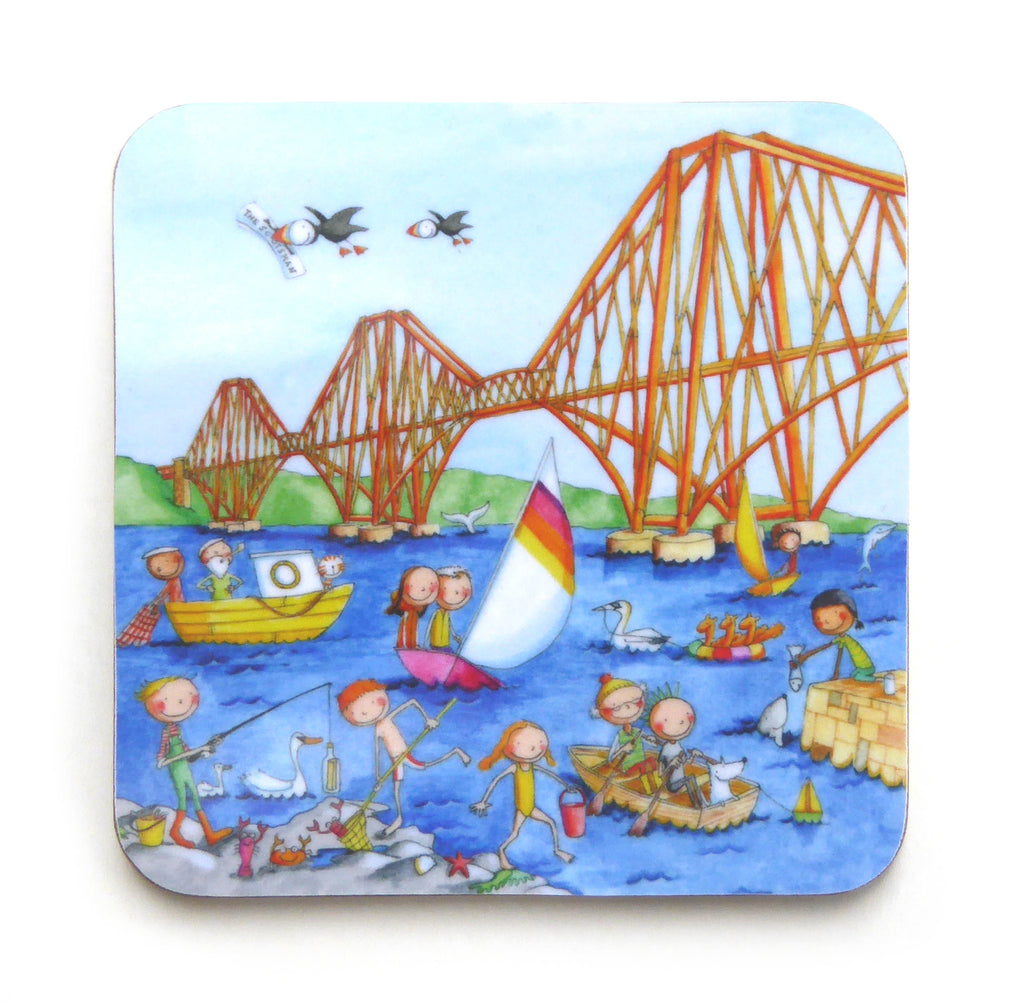 The Forth Rail Bridge Gingerpaws Coaster