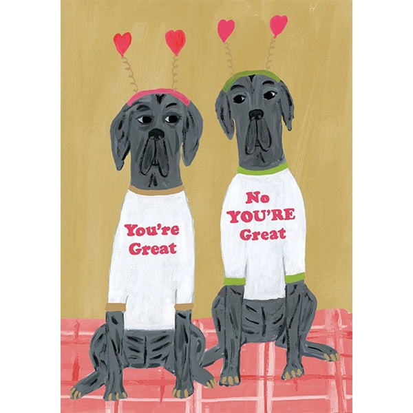 Great Dogs Card