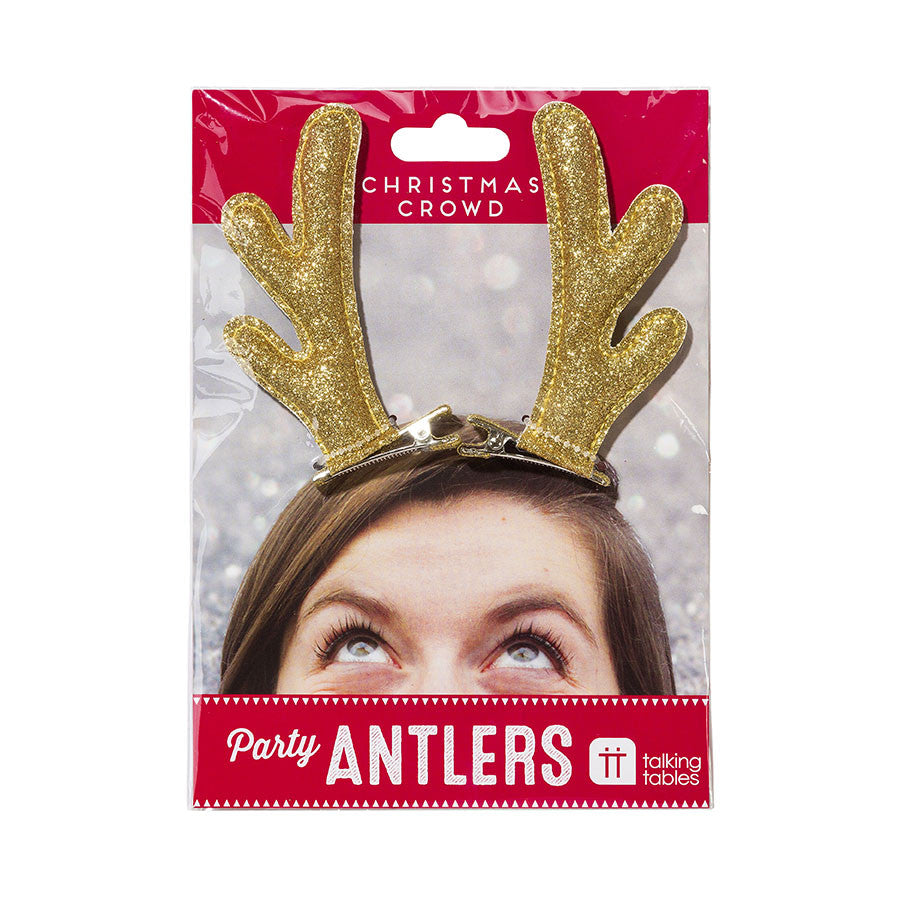 Party Antlers Hair Clips
