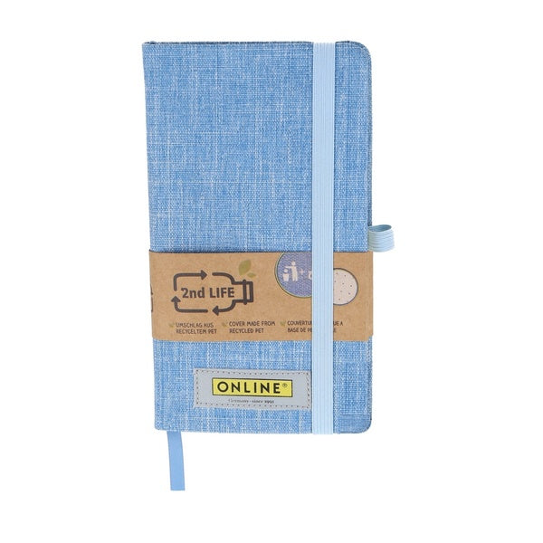 2nd Life A6 Blue Notebook