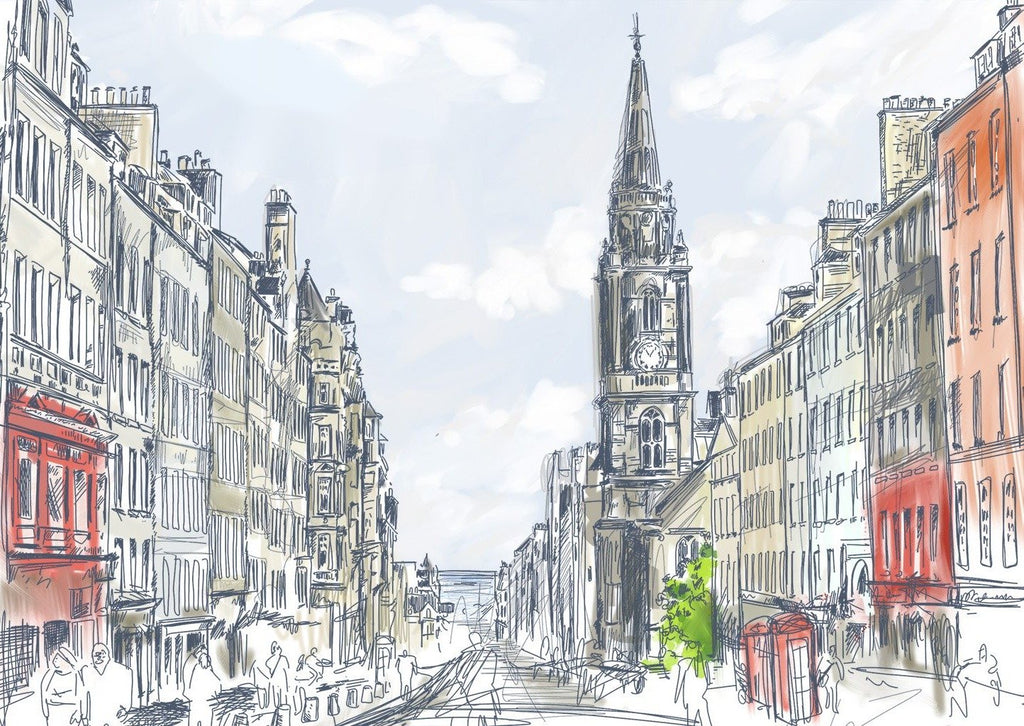 Tron Kirk & Royal Mile Card