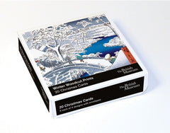The British Museum Winter Woodland Prints Box of 20 Cards