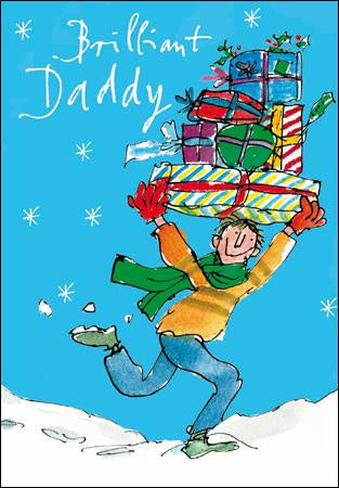 Daddy Special Delivery Christmas Card