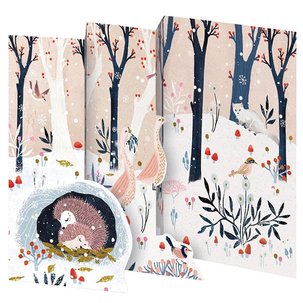 Hedgehogs FoldingCard Pack