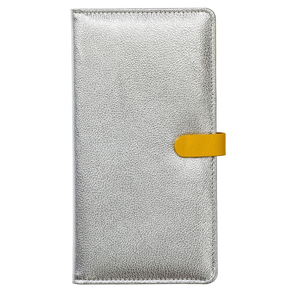 Busy B Yellow and Silver Travel Wallet