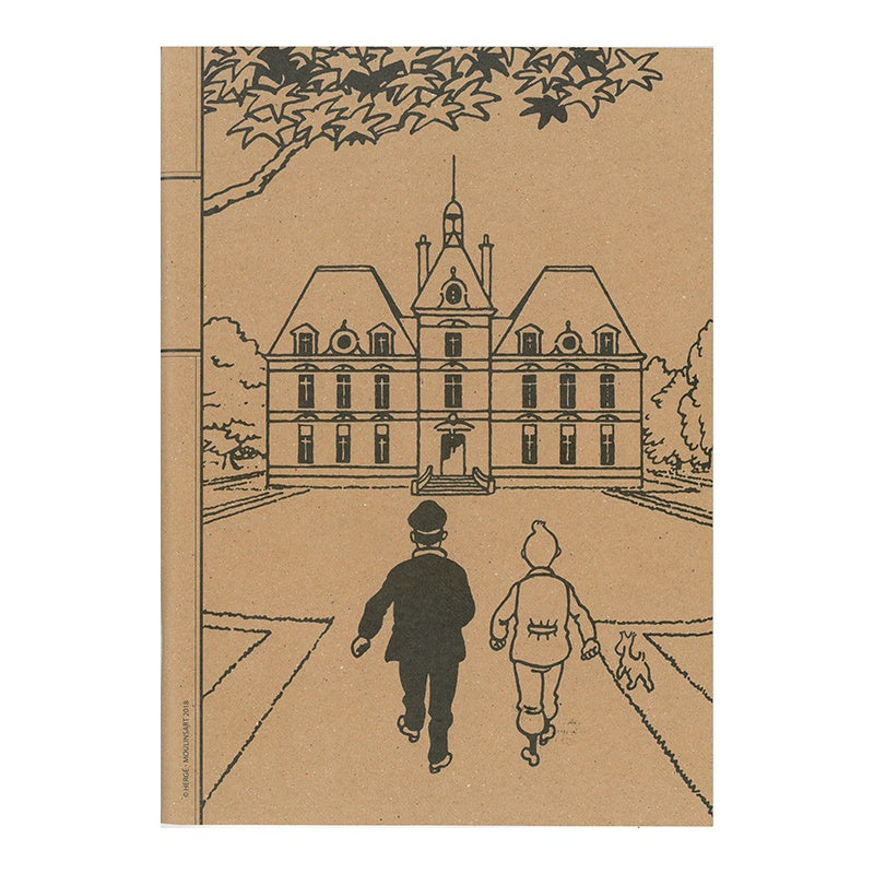 Tintin Chateau Notebook