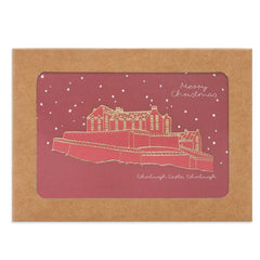 Edinburgh Castle Box of Christmas Cards