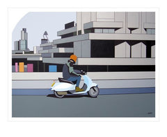 Vespa, Waterloo Bridge London Card
