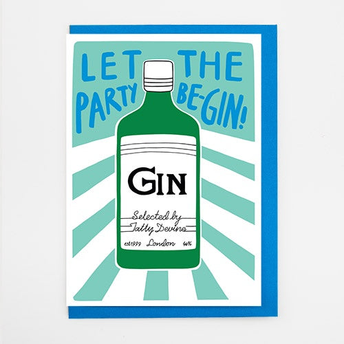 Let The Party Be-gin Card