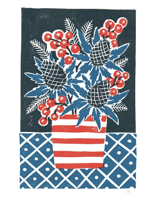 Thistle & Berries Pack of 5 Christmas Cards