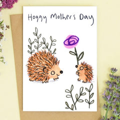 Hoggy Mother's Day Card
