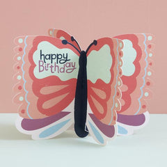 Butterfly Fold-Out Birthday Card