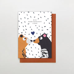 Big Anniversary Love Bear Card