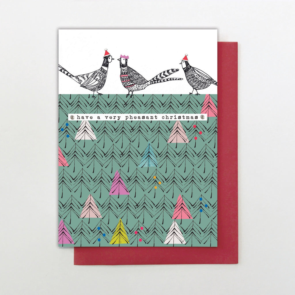 Have a Very Pheasant Christmas Card