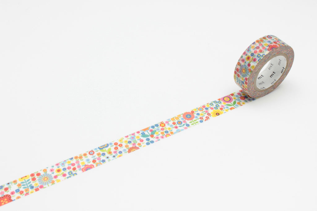 MT Washi Tape Mini Flower Garden