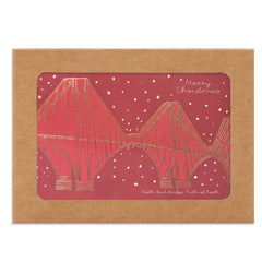 Forth Rail Bridge Box of Christmas Cards