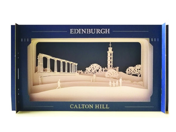 Calton Hill Pop-up Card