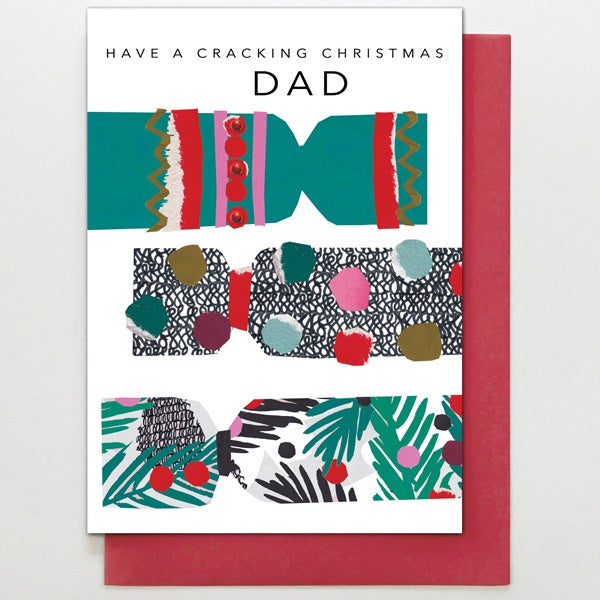 Dad Crackers Card