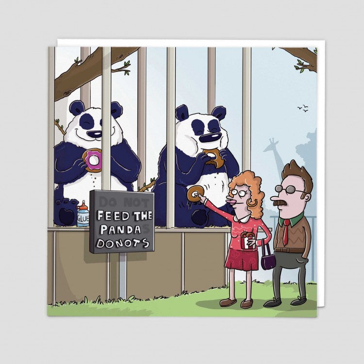 Feed the Pandas Card