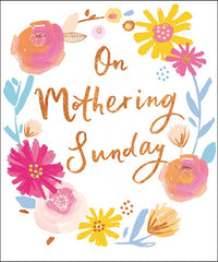 On Mothering Sunday Card