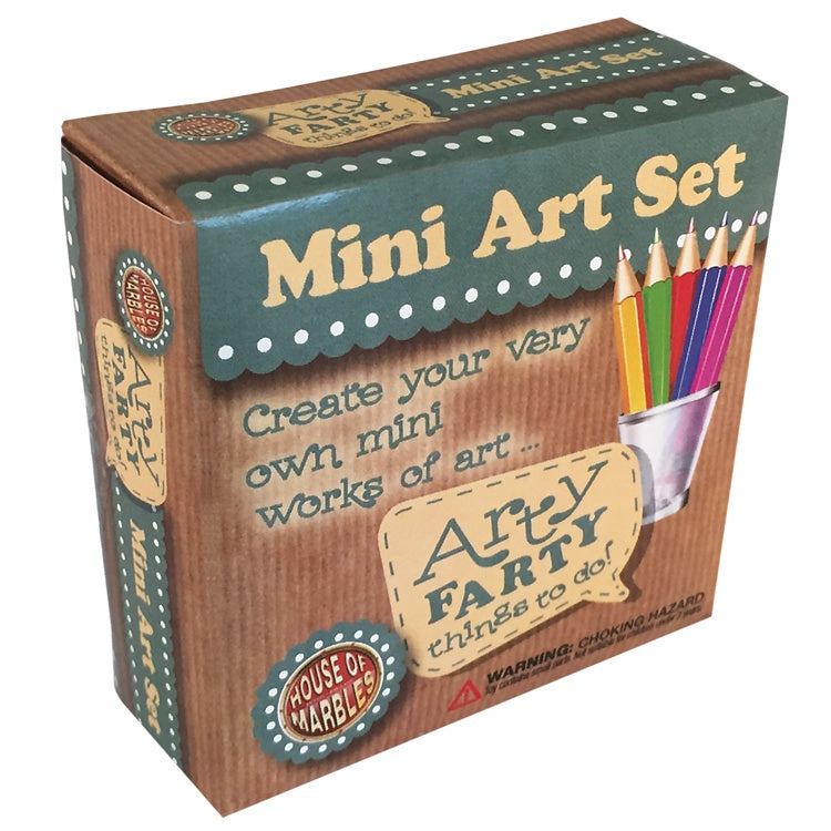 Arty Farty Things to Do in a Little Box