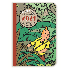 Tintin 2021 Pocket Diary