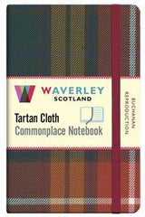 Tartan Cloth Notebook - Buchanan Reproduction