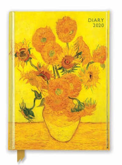 Vincent van Gogh- Sunflowers 2020 Diary