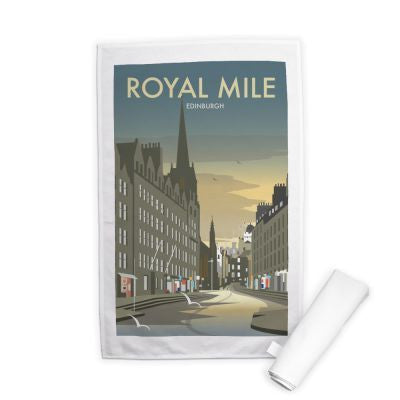 Royal Mile Tea Towel