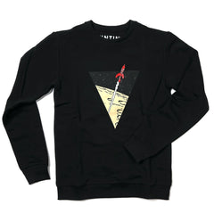Tintin Rocket Sweatshirt Black
