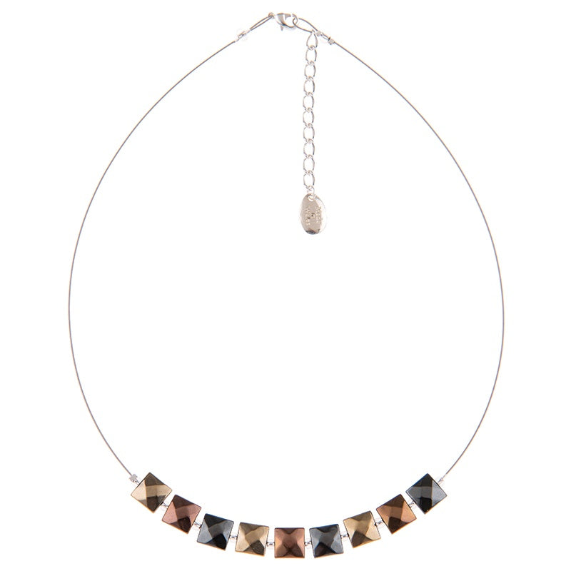 Carrie Elspeth Metallic Boudica Necklace