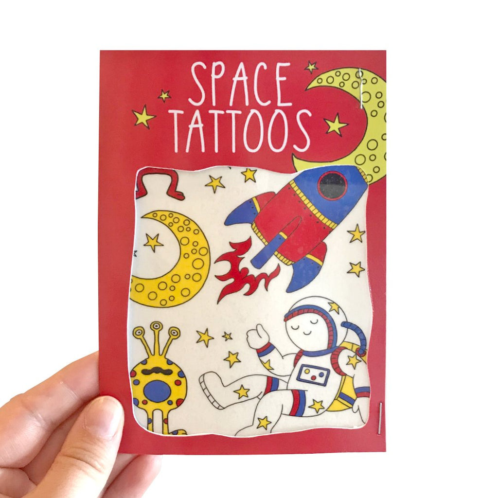 Space Transfer Tattoos