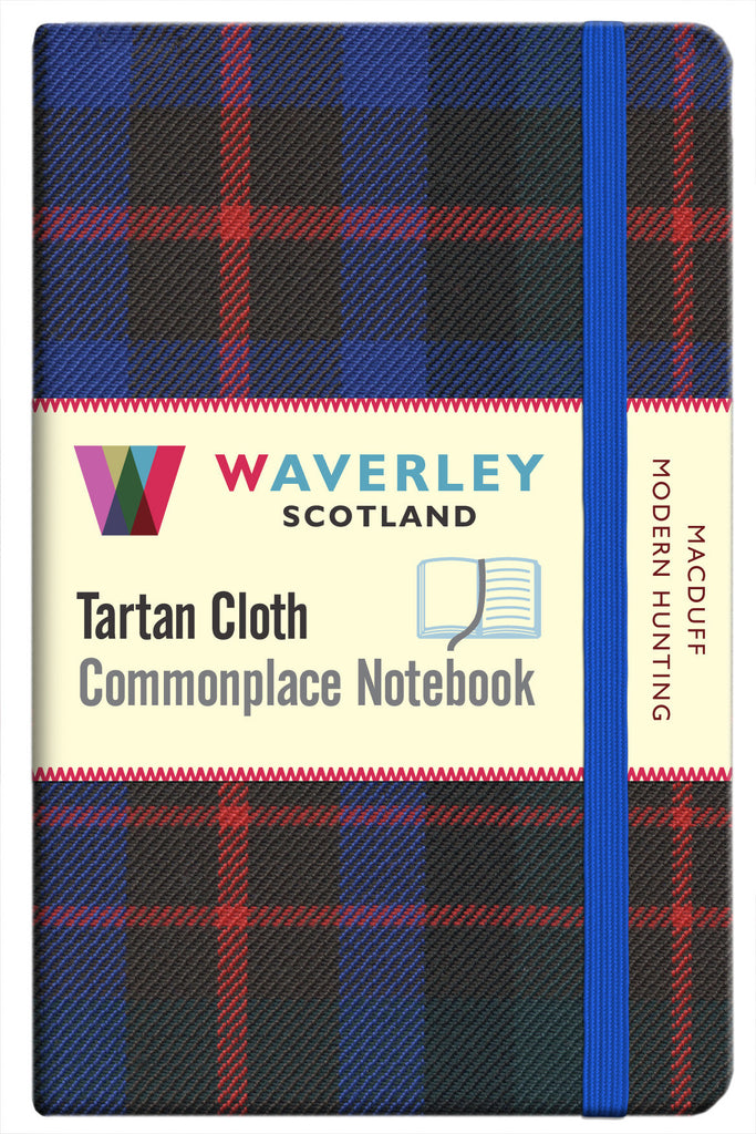 Tartan Cloth Notebook- MacDuff Modern Hunting