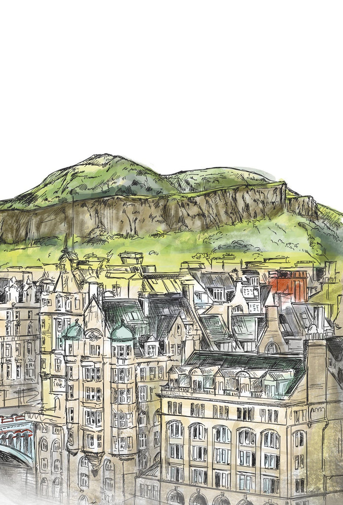 Arthur's Seat & The Crags Card