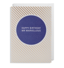 Happy Birthday Mr Marvellous Card