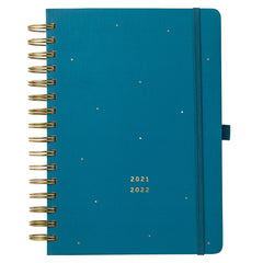 2021/2022 Mid Year Teal Diary Planner