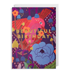 Beautiful Birthday Hummingbird Card