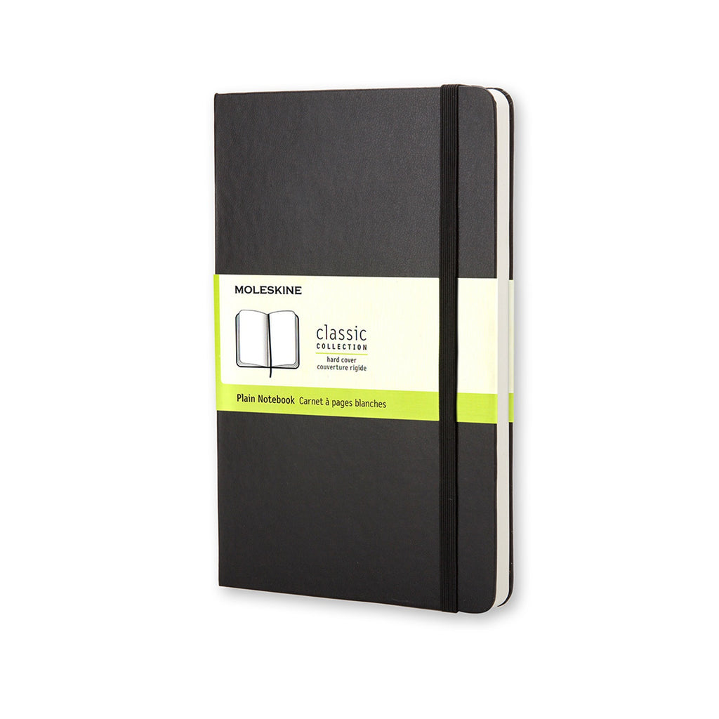 Moleskine Large Plain Notebook Black