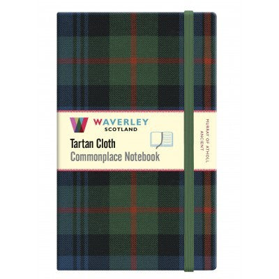 Tartan Cloth Notebook - Murray of Atholl Ancient (Large)