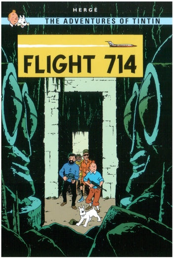 Flight 714 Postcard