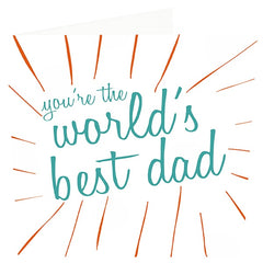 You're The World's Best Dad Card