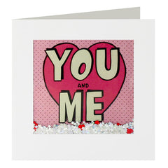 You and Me Valentine's Card