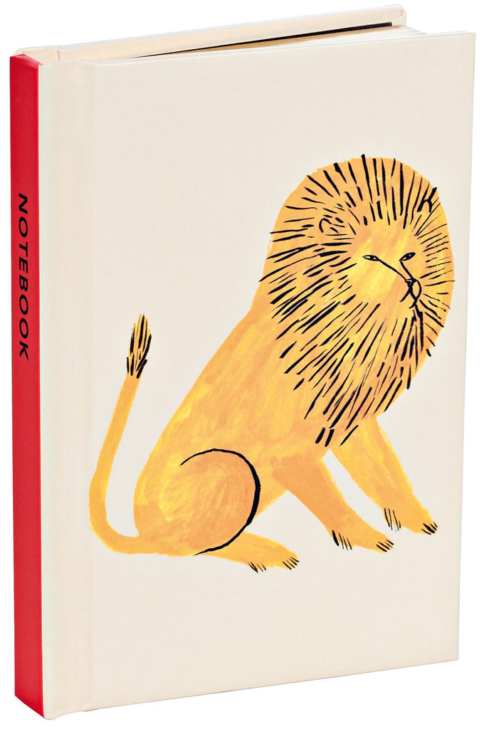 Lion Mini Notebook